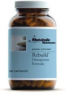 Metabolic Maintenance Rebuild Osteoporosis Formula 180c by Metabolic Maintenance