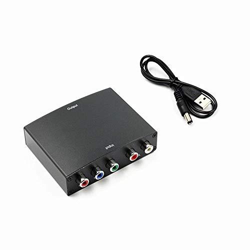 Professionelle YPBPR zu HDMI Konverter Einfach zu AV Video Audio HDCP YPbPr / RGB + R / L Audio zu HDMI Konverter Adapter zu verwenden