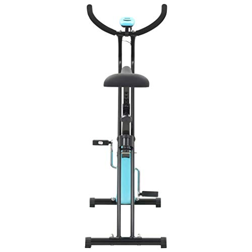 Tidyard- Heimtrainer X-Bike Gurtwiderstand Blau X-Bike Exercise Bike Strap Resistance Blue Sports Item Fitness Cardio Cardio Equipment Home Bike