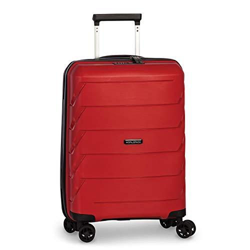 Fabrizio Worldpack Capri Suitcase 54 cm 4 Wheels, red (Red) - 10392-0200-54