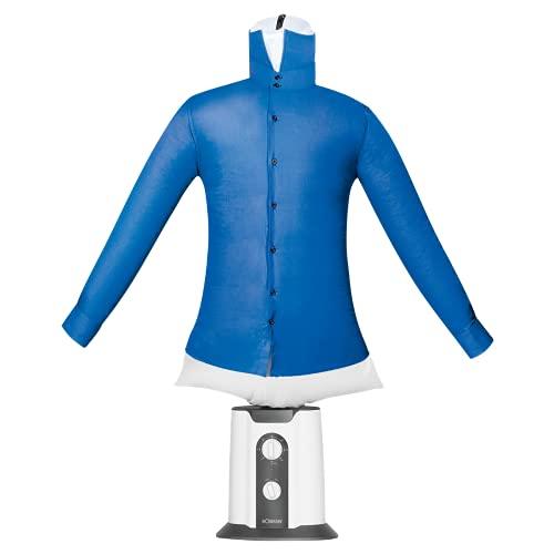 Bomann HBB 6025 CB - Gruccia per camicie e camicie, 2 Ind 1, per asciugare e stirare in un passo, misura unica (XS - S - M - L - XL - XXL), con timer da 180 minuti, 850 W