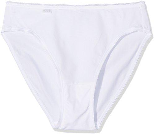 Sloggi Damen 24/7 Micrfib TAC3 Taillenslip, Weiß (White 03), 44 (3er Pack)