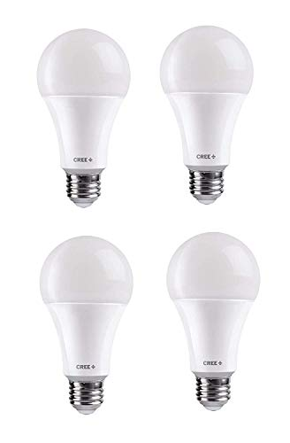 Cree 9.5-Watt (60W) Soft/Warm White (2700K) LED Light Bulb (Set Of 4)