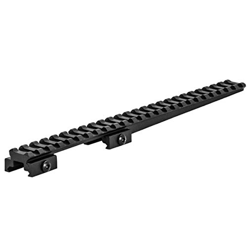 """Lion Gears Tactical Extended Long Rail Cantilever Mount 0.5"""" Riser with 25 Slots BM2505EX"""