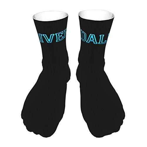 Socks Unisex Printing Socks Slip Warm Thick Socks Polyester Casual Socks Outdoor Sports Socks Riverdale