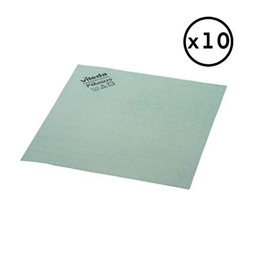 Desconocido Vileda Pack Bayeta PVA Micro (Verde, Pack 10 Bayetas)