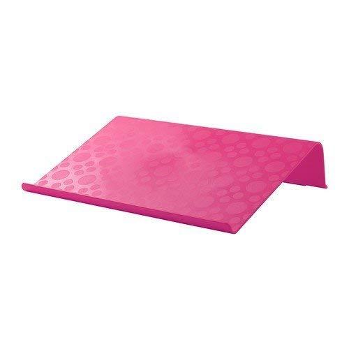 BRÄDA - Soporte para portátil (42 x 31 cm), color rosa