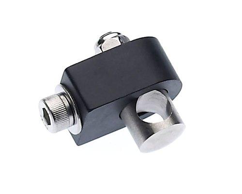 Racktime Klemmblock Clampset, schwarz, One Size
