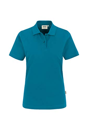 "HAKRO Damen Polo-Shirt ""Top"" 224 - petrol - Größe: M"
