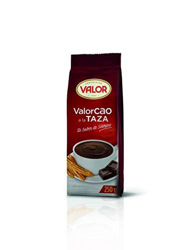 Valor – ValorCao a la Taza – Glutenvrij Cacaopoeder – Ideaal bij Churros – 250 Gram