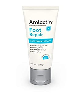 AMLACTIN Foot Cream Therapy 3 oz  Pack of 3