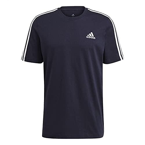 adidas GL3734 M 3S SJ T T-Shirt Uomo Legend Ink M