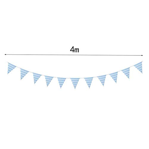 WHRP-decoration Girlande Deko 5M Lange Oktoberfest Big Banner Girlande Flags Münchener Oktoberfest Bier Festival Party Supplies, Tuch Banner
