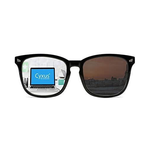 WANGXNCase Gafas De Lectura Progresivas para Hombres Y Mujeres, Gafas de Lectura,Gafas De Sol con Protección UV Polarizada, Gafas para Juegos De Ordenador con Radiación Anti-shid