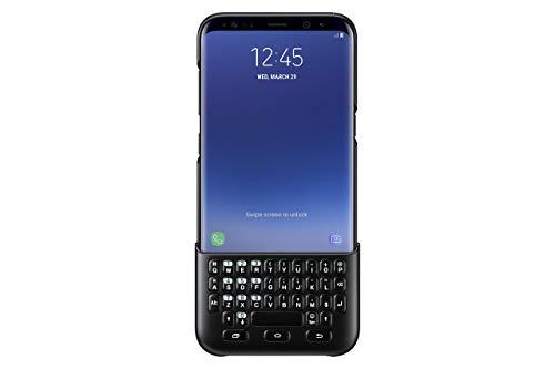 Samsung Galaxy S8+ Keyboard Cover , Black (Renewed)