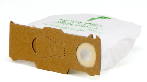 DREHFLEX - 6 Staubsaugerbeutel aus Vlies passend für Vorwerk - Kobold 130/131 / 131SC / VK130 / VK131 - DREHFLEX