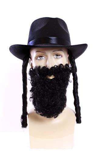 TH-MP Rabbiner Set Rabbi Hut und Bart