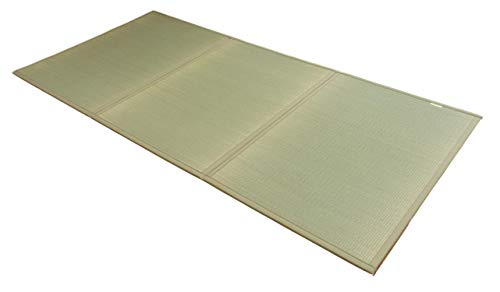 FULI Japanese Traditional Igusa (Rush Grass) Tatami Mattress, Twin. Made in Japan