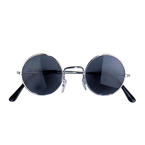 Widmann 6724L Rundbrille, Schwarz, Silber, One Size