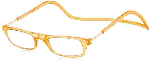 [クリックリーダー] 老眼鏡 CliC Nature SI オレンジ 日本 +2.00 (日本サイズS-M相当)