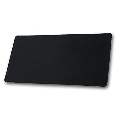 """Gaming Mouse Pad Large 23""""x12"""" XL Size Mouse Mat 23""""x11""""x0. 11"""" Mousepad Color Black, Best Mouse Pad For Office and Gaming"""