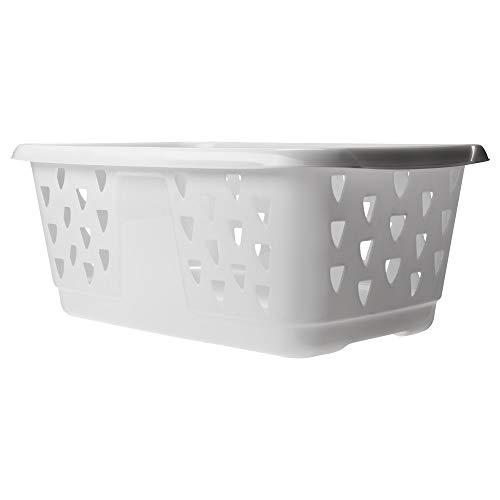 IKEA(イケア) BLASKA 20214533 ランドリーバスケット, ホワイト