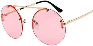 L.P.L メンズ サングラス メガネ 軽量 釣り ゴルフ スキー 運転 昼夜兼用 アウトドア スポーツサングラス (Color : C)