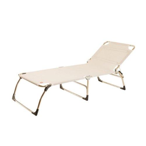 Amigo big chaise longue blanc 75 x 207 cm