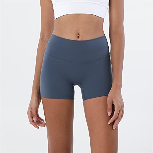 TASJS Pantalones Cortos de Yoga Mujeres Cintura Alta Deportes Pantalones Cortos de Aptitud Gimnasio Entrenamiento Entrenamiento Entrenamiento Tope Levantamiento Levantamientos Leggings