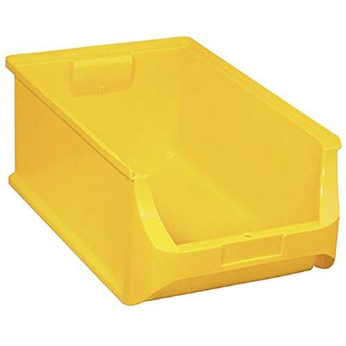 ALLIT Sichtlagerkasten Gr. 5 Farbe gelb 500 x 310 x 200 mm