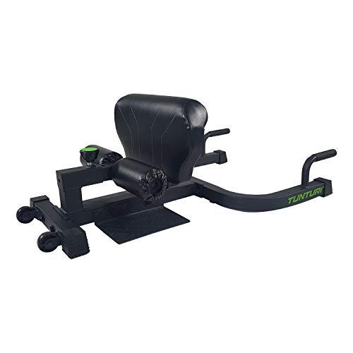 Tunturi Sissy WT20 Sissy - Banco plegable para sentadillas, con cojín para la pantorrilla, rodillo para las piernas y agarres