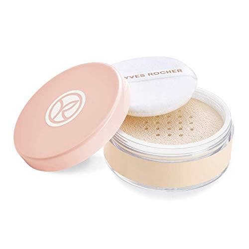 Yves Rocher COULEURS NATURE Pure Light Loser Puder, für ein makelloses Finish, 1 x Dose &...