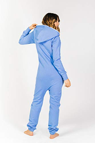 Moniz Damen Jumpsuit, graublau - 3