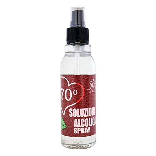 STI Soluzione Alcolica Spray Alimentare Igienizzante Bocca Superfici Cavo Orale Nebulizzatore