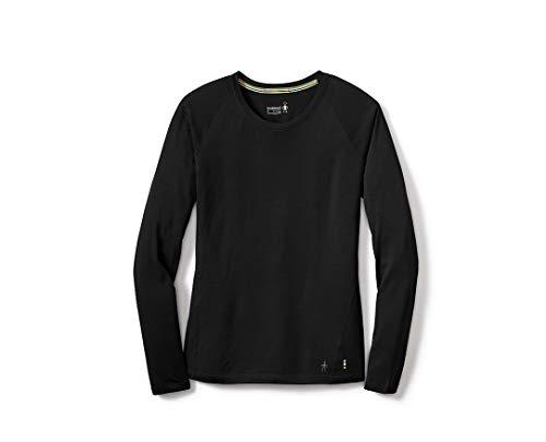 Smartwool Merino 150 Wool Top - Women's Baselayer Long Sleeve Performance Shirt Black