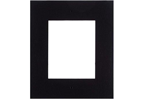 2N IP Verso Flush Frame 1 m blk, voorpaneel voor inbouw montage, voor een 2N IP Verso moduleeenheden, zwart