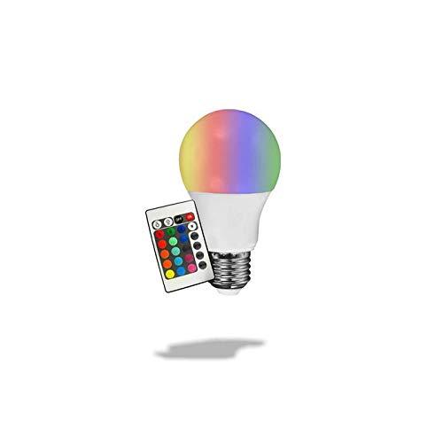 Lampada 5w Led RGB - Colorida