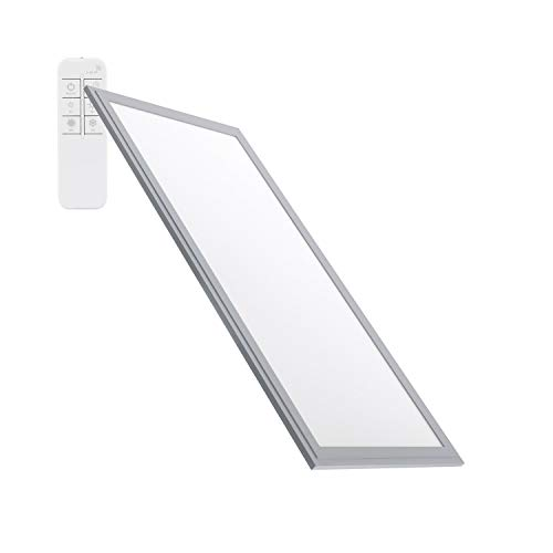 Panel LED Regulable Tª Color Seleccionable 120x60cm 60W 5400lm Marco Plata Seleccionable...