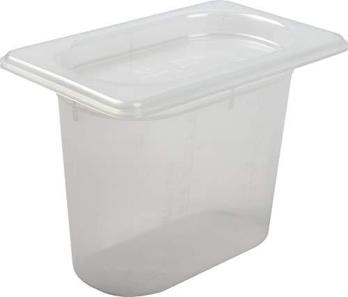 Why Should You Buy San Jamar MP19 Mod Pan, 1/9 Food Pan with Lid, 1 Quart, 5 1/8 Deep, (Pack of 12)