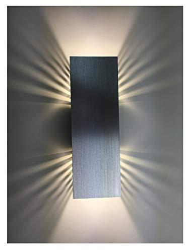 SpiceLED applique | ShineLED-30 | 2x15W bianco | Effetto ombra | Lampada da parete a LED ad alta potenza dimmerabile