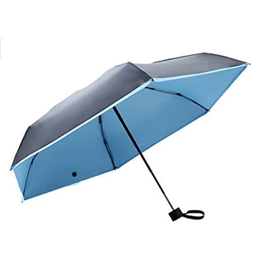 WWDKF Los Mini Sombrillas De Vinilo Plegables con Protección Solar En Días Soleados Y Lluviosos, A Prueba De Lluvia Y Viento Al Aire Libre Pueden Bloquear Eficazmente Los Rayos Ultravioleta,D