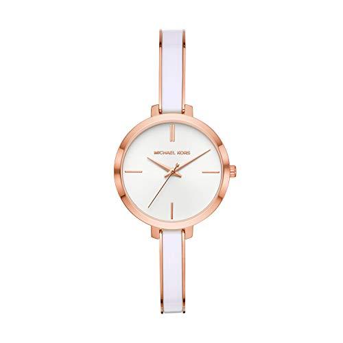 Michael Kors Women's Jaryn Quartz Watch with Stainless-Steel-Plated Strap, Multi, 8 (Model: MK4342)