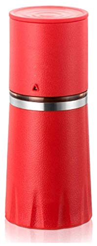 Best Salt and Pepper Grinder Manual Coffee Bean Grinder Portable Coffee Cup Multifunction Mini Ceramic Mill Hand Held Coffee Mill, for Travelling, Office, Home