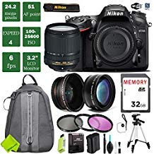 Nikon D7200 DSLR Camera 18-140mm VR Lens Bundle (18-140mm VR Lens, Standard Bundle 1)