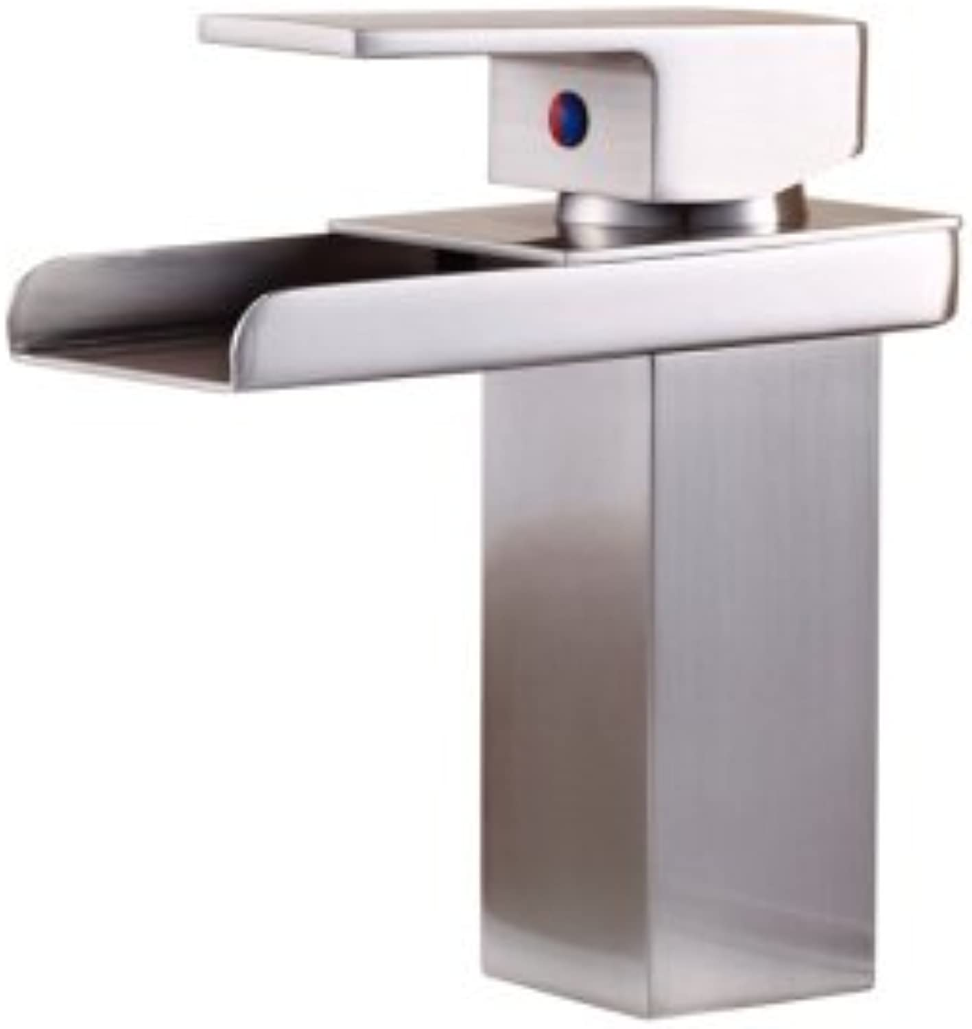 LHbox Basin Mixer Tap Bathroom Sink Faucet Basin taps and cold water continental all-copper,