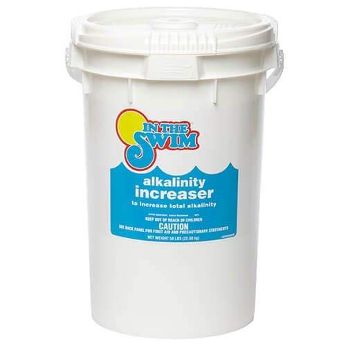In The Swim Pool Alkalinity Increaser - 25 Pound Bucket