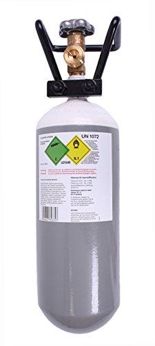 Sauerstoffflasche 2l wiederbefüllbar von Rothenberger