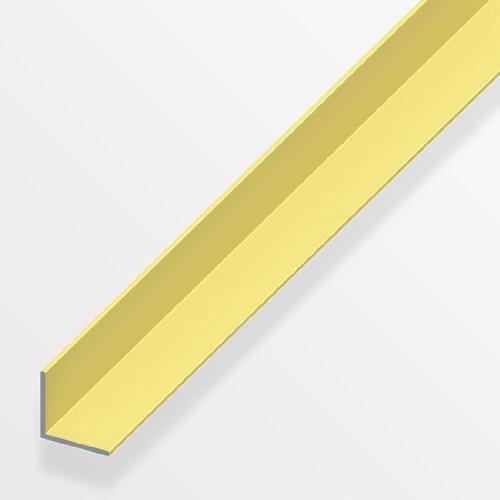 Winkel gleichschenklig Alu Messing elox. 200cm in versch. Varianten