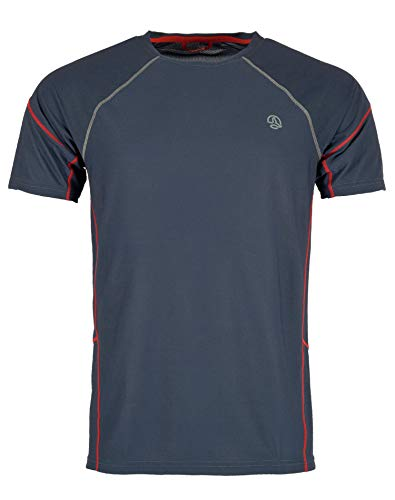 Ternua Tipas Camiseta, Hombre, Whales Grey, XL
