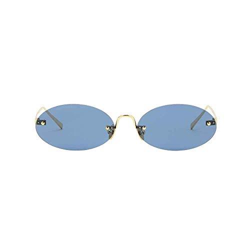 Spektre Boccioni Sonnenbrille unisex hoher Schutz golden-blau Made in Italy